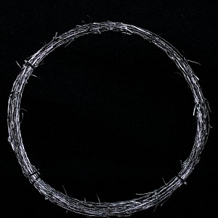 Realistic Stunt Soft Barb Wire 50'