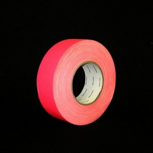 "Camera Tape - 2"" Neon Pink"