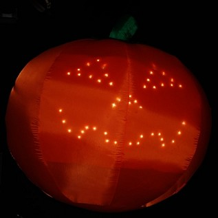 Light Show Singing Pumpkin Inflatable