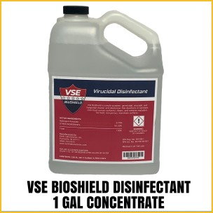 VSE BioShield Hospital Grade Disinfectant Concentrate