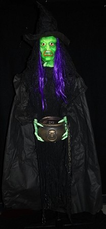 Cackling Green Witch